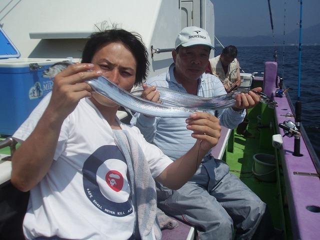 2009.8.13(木) 2人で19本・吉林さん!