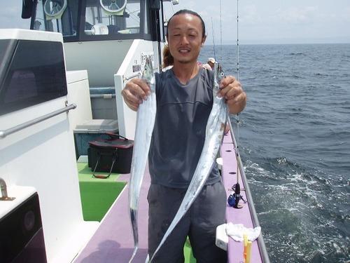 2008.8.13   73匹釣った熊田さん!