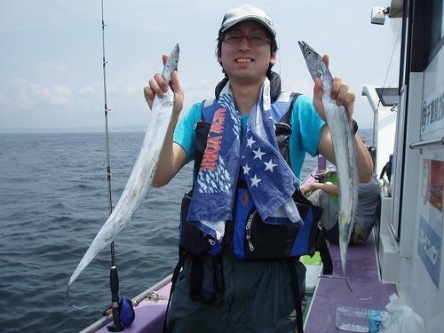 2008.8.13   初挑戦で41匹・河野さん!