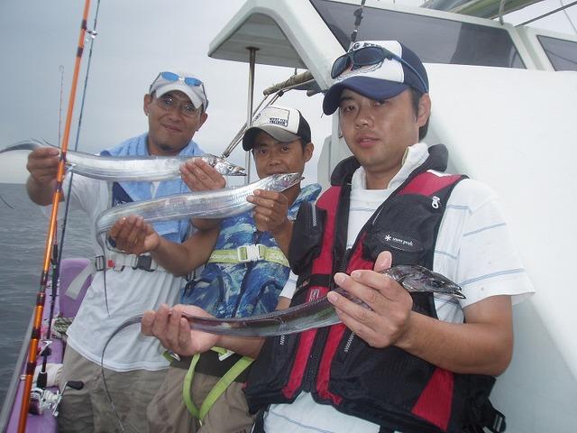 2009.8.14(金) 初挑戦で14本・14本・8本!