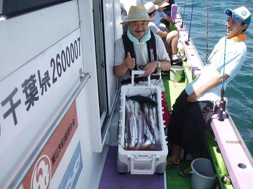 2008.8.15   48匹釣った斉藤さん!