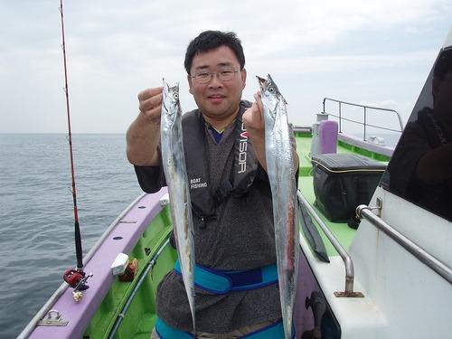 2008.8.18   29匹釣った谷澤さん!