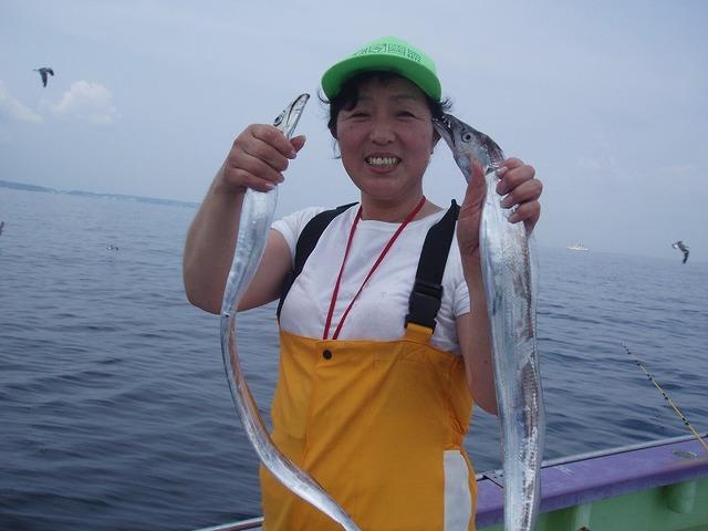 2009.8.19(水) 初挑戦で22本・中山さん!