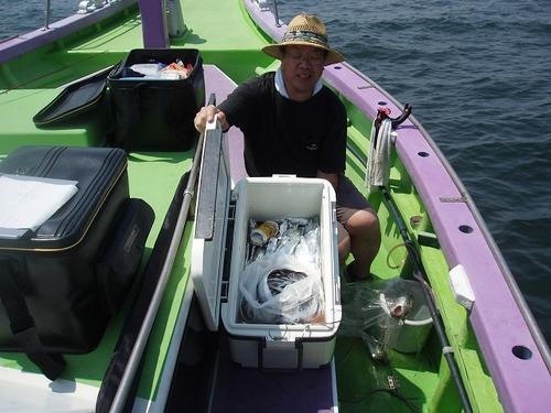 2008.8.20   竿頭・38匹・飯倉さん!