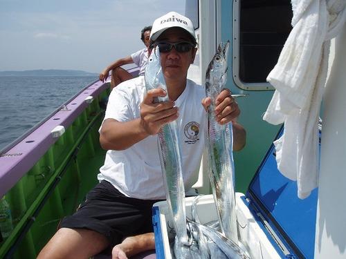 2008.8.20   2番手・37匹・寺西さん!