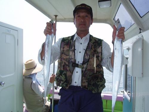 2008.8.21   2番手・47匹・阿部さん!