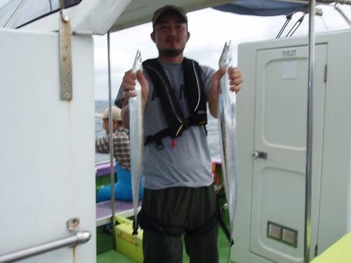 2008.8.22   2番手・38匹・熊谷さん!