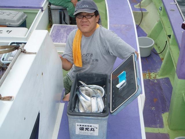 2009.8.22(土) 貸し竿で2号船竿頭・24本・日野さん!