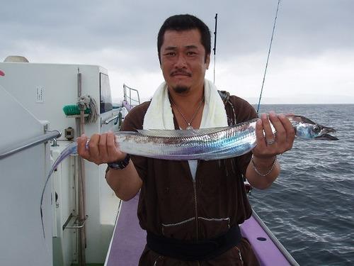 2008.8.23   本日最大97cmを釣った里井さん!