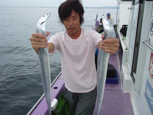 2008.8.24   3番手・27匹・上野さん!