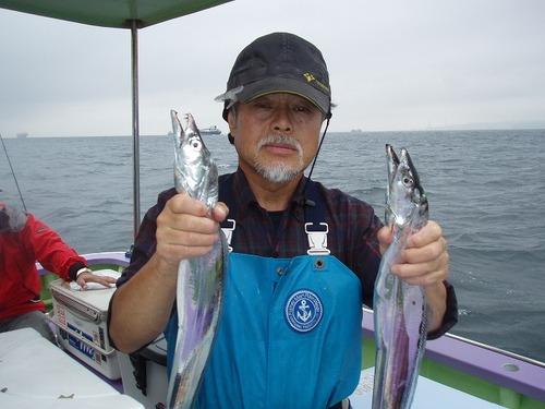 2008.8.26   竿頭の1人・18匹・宇野さん!