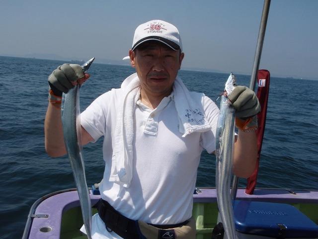 2009.8.29(土) 初挑戦で健闘の21本・横張さん!