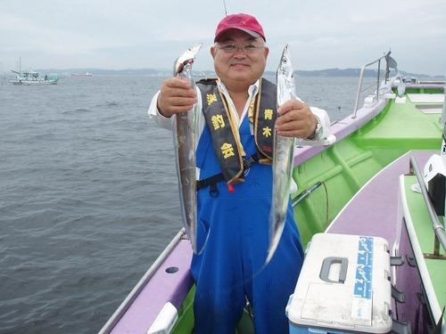 2008.8.30   16匹釣った青木さん!