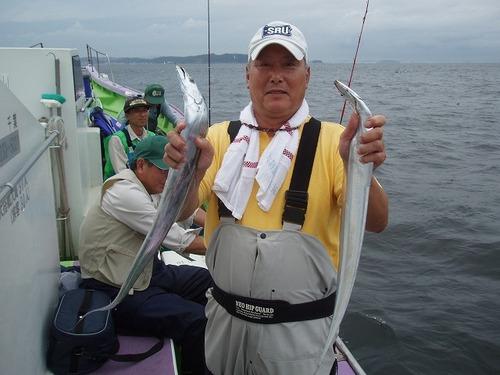 2008.8.30   2番手・17匹・川辺さん!