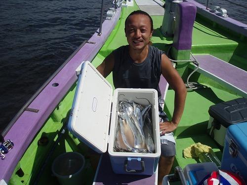2008.8.31    竿頭・35匹・熊田さん!