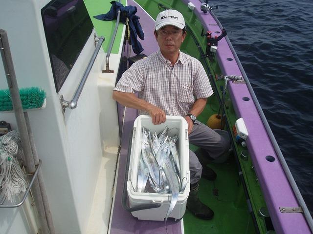 2009.9.4(金) 竿頭・18本・柴橋さん!