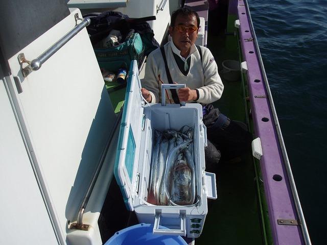2008.12.15(月) 竿頭・39匹・鹿野さん!