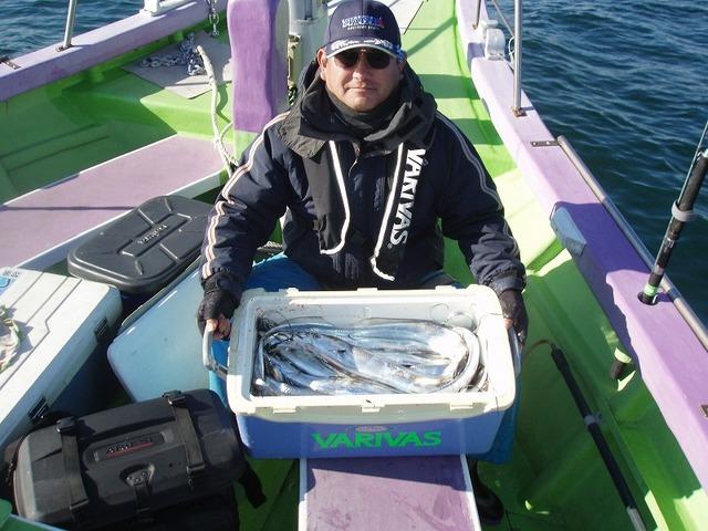 2008.12.15(月) 2番手・34匹・宇田川さん!
