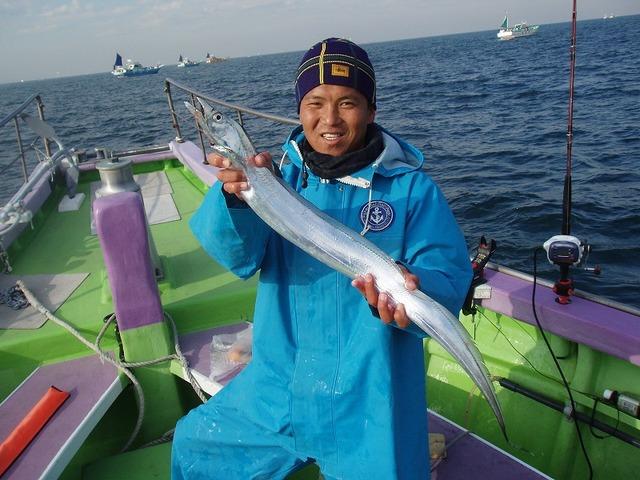 2008.12.16(火) 2番手・20匹・中野さん!