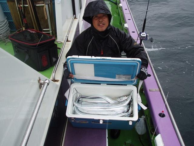2008.12.17(水) 25匹釣った坂下さん!