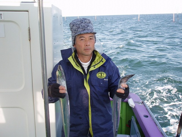 2008.12.25(木) 竿頭・森さん!