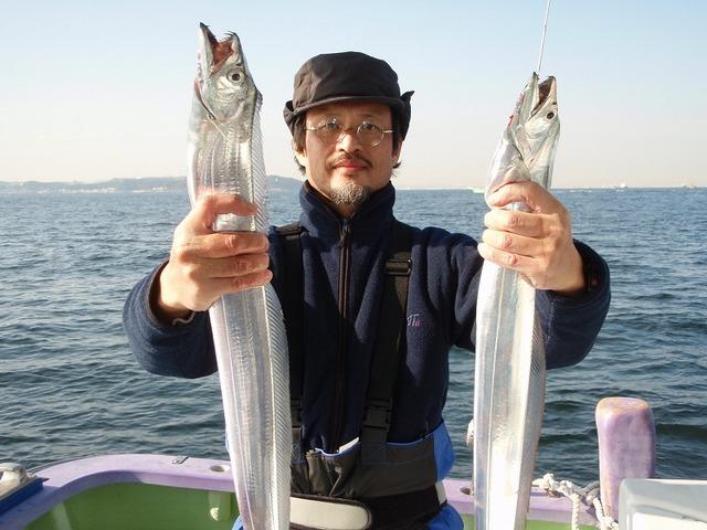 2008.12.29(月) 良型揃いで4匹・砂原さん!